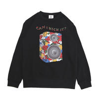 【NINE RULAZ / ナインルーラーズ 】KICKS SPEAKER CREW NECK