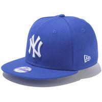 【 NEW ERA / ニューエラ 】 KIDS 9FIFTY ニューヨーク・ヤンキース スナップバック キャップ/ブライトロイヤル×ホワイト