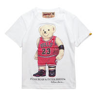 "【 INTERBREED / インターブリード 】BEAR ""Jordan"" KIDS Tee"