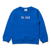【 NINE RULAZ / ナインルーラーズ 】Logo Crew Neck