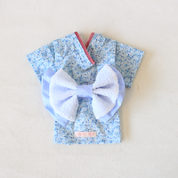 flower浴衣(ライトブルー)