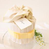Anniversary cake(Yellow)