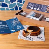 ※5月20日発送※【母の日ギフト】バスクチーズケーキ2個とコーヒー3パック
