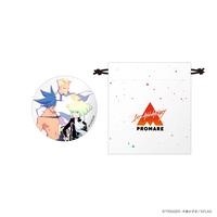 プロメア 1st Anniversary 缶ミラー&ミニ巾着セット