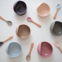 silicon bowl & spoon set