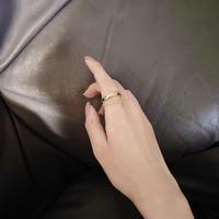 layered gold ring