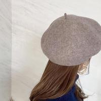 WOOL beret / 4color