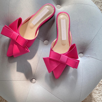 RIBBON slippers / 5color