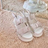 platform sandal / 2color