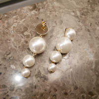 【即納】pearl drop pierce
