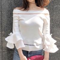 【予約】tulip sleeve tops / 3color