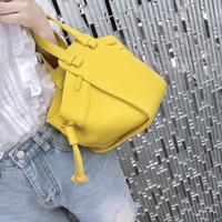 mini mock bag / yellow