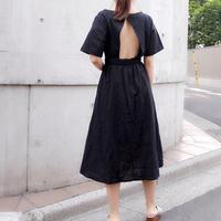 【即納】back open ops / black