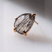 Black rutilated quartz Single p -1