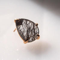 Black rutilated quartz Single p -2