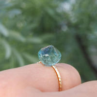 K10 candy ring  - Fluorite-