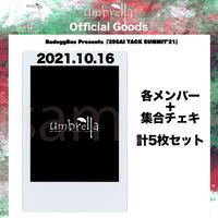 10/16 OSAKA RUMIO チェキ 集合1枚+各メンバー1枚 合計5枚