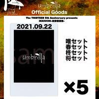 9/22 高田馬場PHASE  チェキ5枚セット
