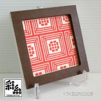 クロスステッチ彩糸図案「小部屋」