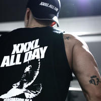 ''XXXL ALL DAY''タンクトップ