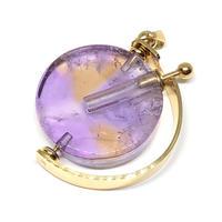 天然石香水瓶 紫水晶(アメジスト)
