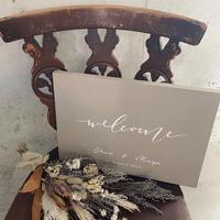 welcomeboard+bouquet B4サイズ ④