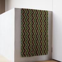 batik kaftan -green-