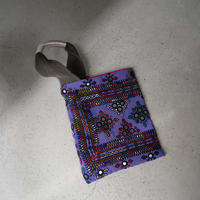 South Asia handle bag PURPLE