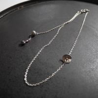 karen silver short necklace DISK