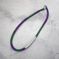 code necklace PURPLE
