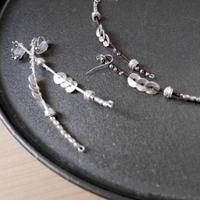 snake straight pierce/earrings