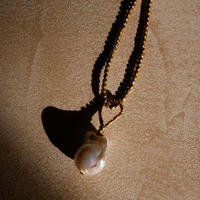 baroque pearl necklace -c-