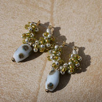 India grass pierce/earrings -yomogi-