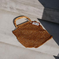 bamboo handle ami ami bag GOLD