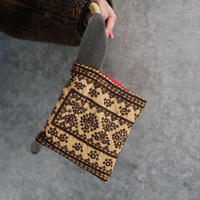 South Asia handle bag BEIGE