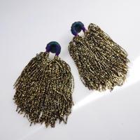 shi shi  pierce/earrings GOLD