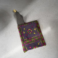 South Asia handle bag SMOKE PURPLE