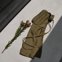 pocket wrap skirt OLIVE KHAKI