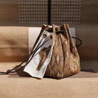 box bag Python BROWN