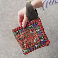 South Asia handle bag ORANGE