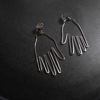 "made  by ""hand""pierce/earring SILVER"