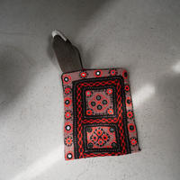South Asia handle bag RED