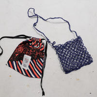 ami ami mesh bag NAVY