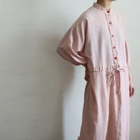 1980'S BAND COLLAR PULLOVER DRESS