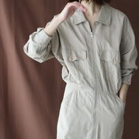 1980'S EURO ZIPPER SHIRT DRESS