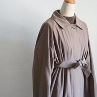 LONDON FOG SMOOTH FABRIC LONG COAT WITH LINER