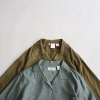 open collar rayon shirt