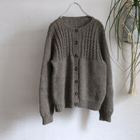 EURO HAND KNITTED CABLE CARDIGAN