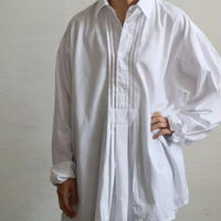 PIN TUCK PULLOVER TYROLEAN SHIRT