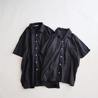euro open collar shirt